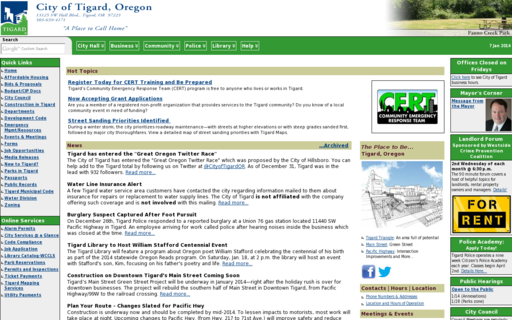 Access tigard-or.gov using Hola Unblocker web proxy