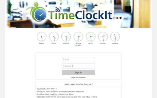 Access timeclockit.com using Hola Unblocker web proxy