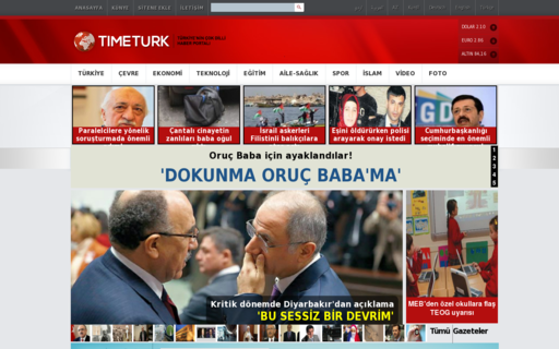 Access timeturk.com using Hola Unblocker web proxy