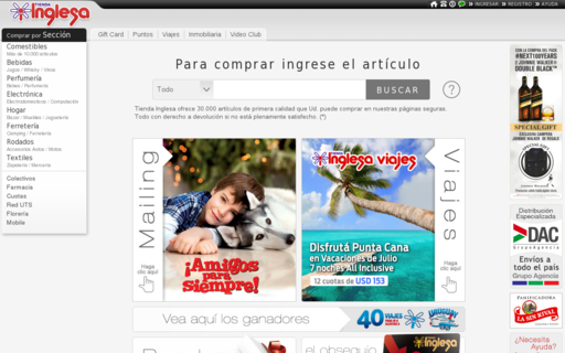 Access tinglesa.com.uy using Hola Unblocker web proxy