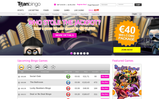 Access titanbingo.com using Hola Unblocker web proxy