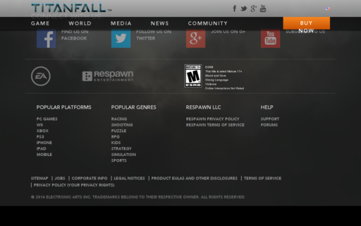Access titanfall.com using Hola Unblocker web proxy