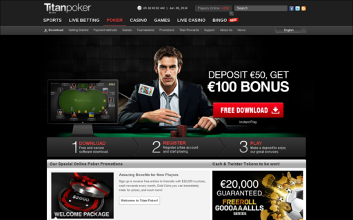Access titanpoker.com using Hola Unblocker web proxy