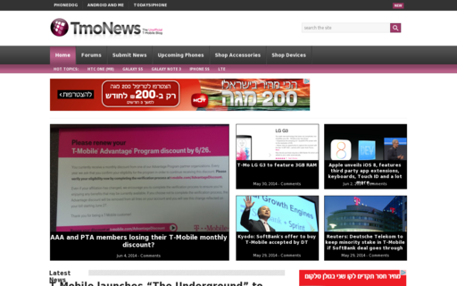 Access tmonews.com using Hola Unblocker web proxy