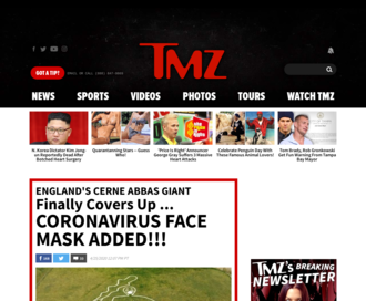 Access tmz.com using Hola Unblocker web proxy