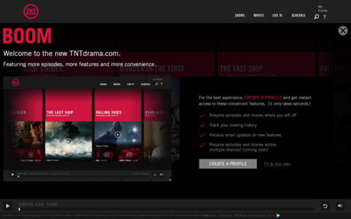 Access tntdrama.com using Hola Unblocker web proxy