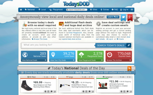Access todaysdod.com using Hola Unblocker web proxy