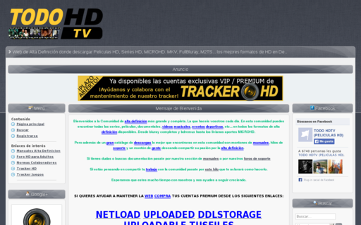 Access todohdtv.com using Hola Unblocker web proxy