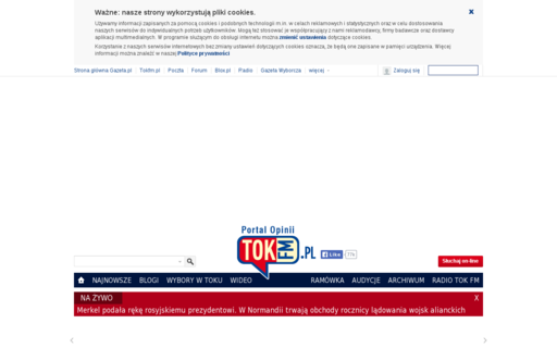 Access tokfm.pl using Hola Unblocker web proxy