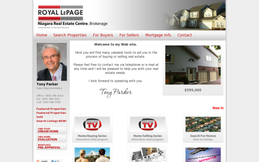Access tonyparkerrealestate.com using Hola Unblocker web proxy