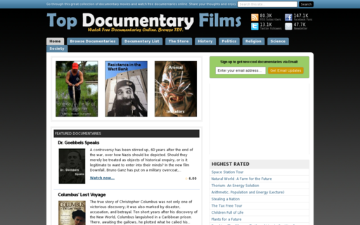 Access topdocumentaryfilms.com using Hola Unblocker web proxy
