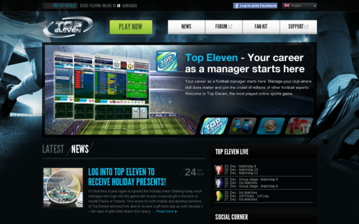Access topeleven.com using Hola Unblocker web proxy