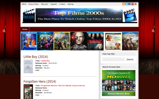 Access topfilms2000.com using Hola Unblocker web proxy