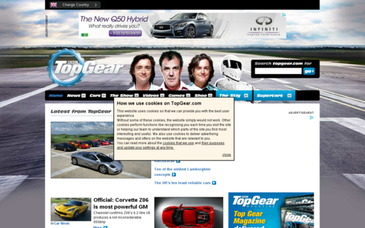 Access topgear.com using Hola Unblocker web proxy