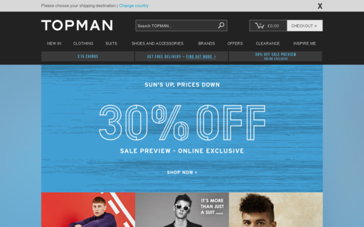 Access topman.com using Hola Unblocker web proxy