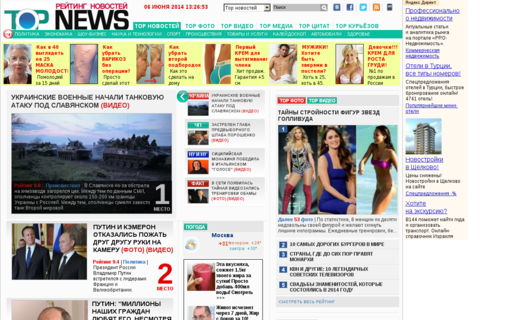 Access topnews.ru using Hola Unblocker web proxy