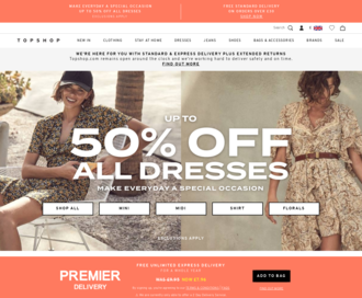 Access topshop.com using Hola Unblocker web proxy