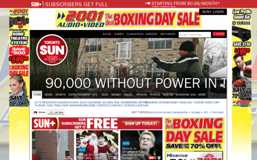 Access torontosun.com using Hola Unblocker web proxy