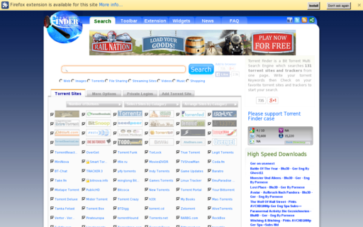 Access torrent-finder.info using Hola Unblocker web proxy
