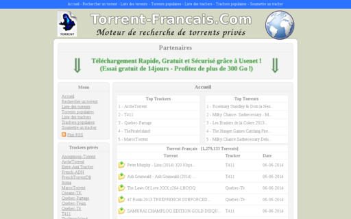 Access torrent-francais.com using Hola Unblocker web proxy