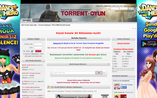 Access torrent-oyun.com using Hola Unblocker web proxy