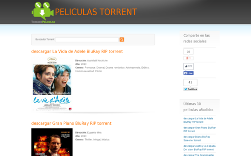 Access torrentpeliculas.com using Hola Unblocker web proxy