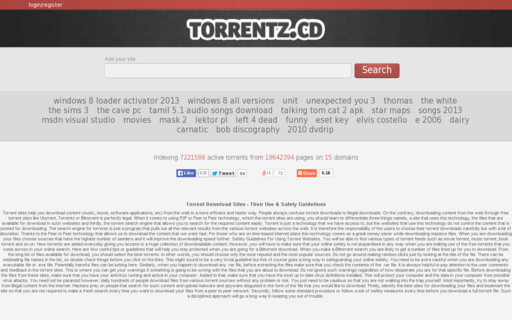Access torrentz.cd using Hola Unblocker web proxy