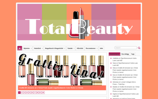 Access totalbeauty.se using Hola Unblocker web proxy