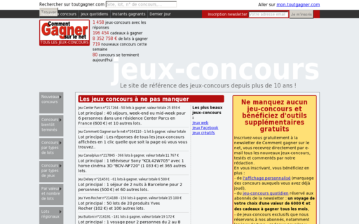 Access toutgagner.com using Hola Unblocker web proxy