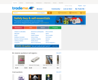 Access trademe.co.nz using Hola Unblocker web proxy