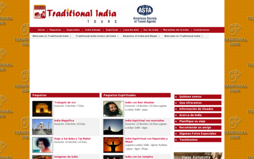 Access traditionalindiatours.com using Hola Unblocker web proxy
