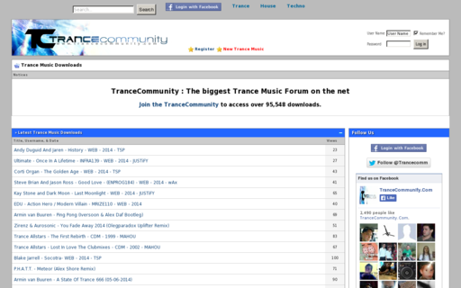 Access trancecommunity.com using Hola Unblocker web proxy