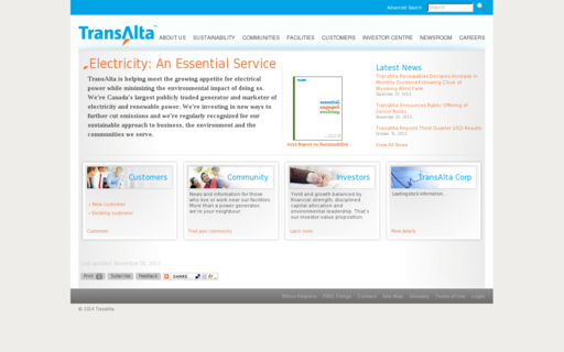 Access transalta.org using Hola Unblocker web proxy