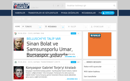 Access transfermarkt.com.tr using Hola Unblocker web proxy
