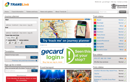Access translink.com.au using Hola Unblocker web proxy