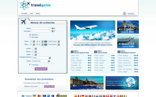 Access travelgenio.fr using Hola Unblocker web proxy