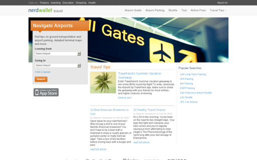 Access travelnerd.com using Hola Unblocker web proxy
