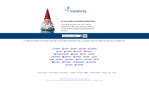 Access travelocity.com using Hola Unblocker web proxy