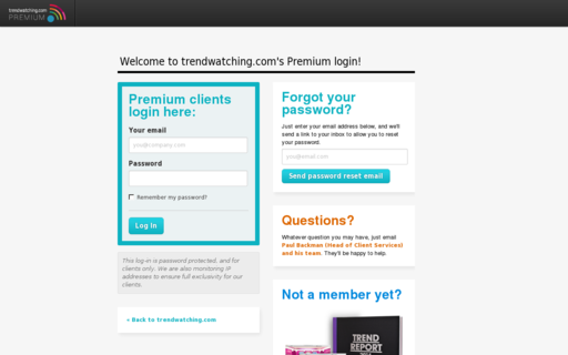 Access trendwatchingpremium.com using Hola Unblocker web proxy