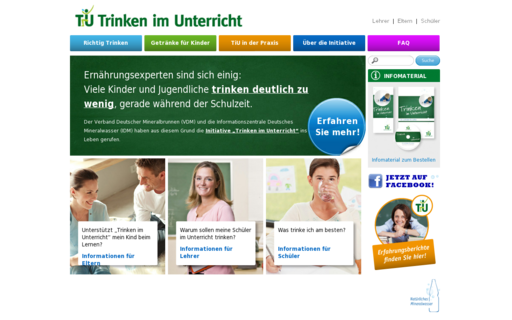Access trinken-im-unterricht.de using Hola Unblocker web proxy