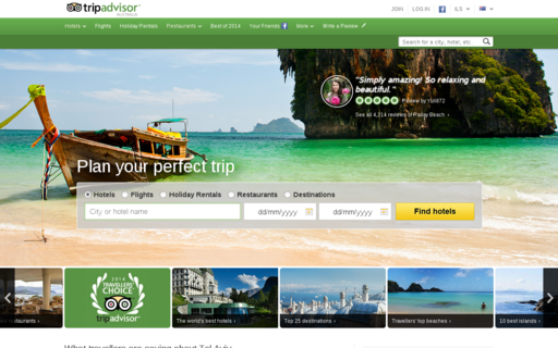 Access tripadvisor.com.au using Hola Unblocker web proxy
