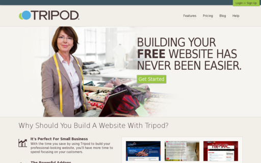 Access tripod.com using Hola Unblocker web proxy