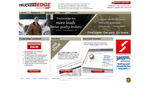 Access truckersedge.net using Hola Unblocker web proxy