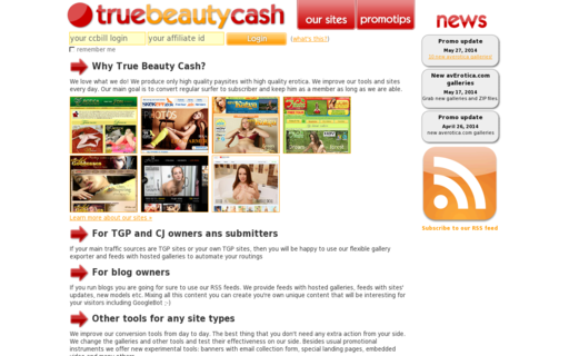 Access truebeautycash.com using Hola Unblocker web proxy