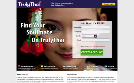 Access trulythai.com using Hola Unblocker web proxy