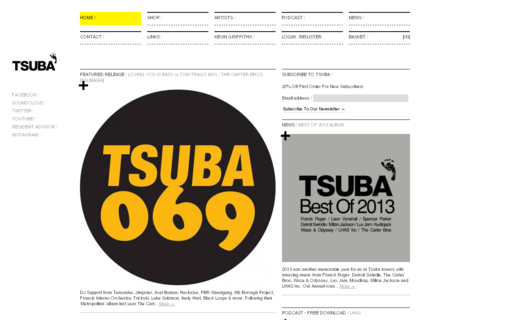 Access tsubarecords.com using Hola Unblocker web proxy