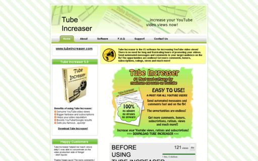 Access tubeincreaser.com using Hola Unblocker web proxy