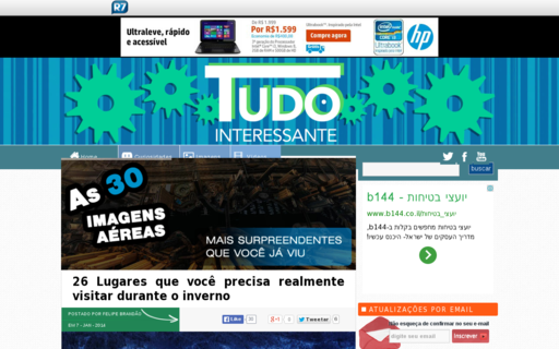 Access tudointeressante.com.br using Hola Unblocker web proxy