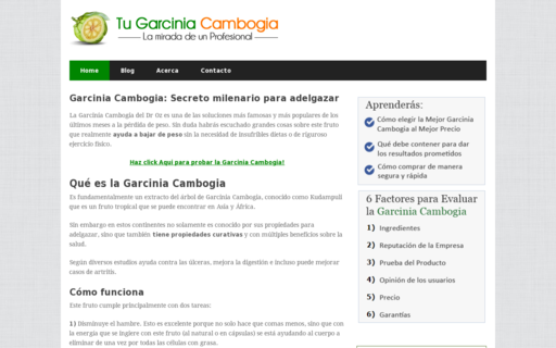 Access tugarciniacambogia.com using Hola Unblocker web proxy