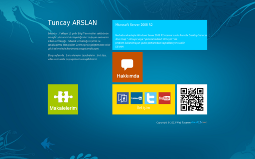 Access tuncayarslan.com using Hola Unblocker web proxy